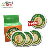 Buy 3 free 1 Baby Organix- Buzz Off Soothing Balm (20 grams)