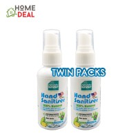 Baby Organix - Naturally Kinder Hand Sanitiser - 60 ml (TWIN PACKS)