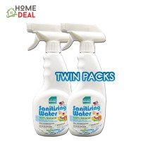 Baby Organix Naturally Kinder Sanitizing Water 400ml (TWIN PACKS)