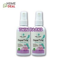 Kath + Belle Diaper Time Sanitiser Spray 100ml (TWIN PACK)