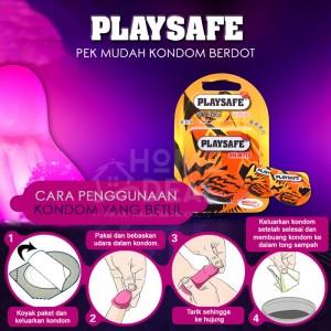 Playsafe- Pek Mudah Kondom Dot 2's