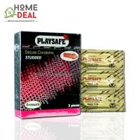Playsafe - Kondom Berjalur (Studded) 3's