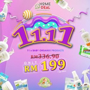 11-11 Baby Organix Promotion