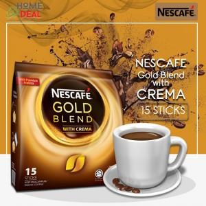 NESCAFE -Gold Blend with Crema (15 sticks x 20g)
