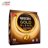 NESCAFE -Gold Blend with Crema (15 sticks x 20g)