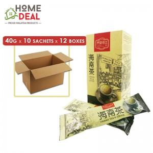 [Hong Kong with shipment] Ah Weng Koh - Hainan Tea - 40 grams x 10 sachets x 12 boxes