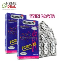 Playsafe - Forever Regular Condoms 12's TWINPACKS