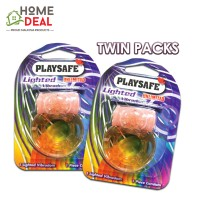 Playsafe - EasyPack Lighted Vibradom TWINPACKS