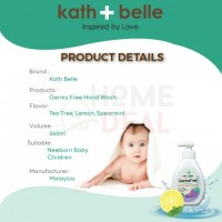 Kath belle Germshield Hand Wash 250ml (TWINPACK) with Kath Belle Hand Sanitizing Mist
