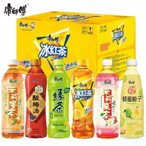 Master Kang Drinks Series 500ml (10 bottles) 康师傅绿茶/冰糖雪梨/冰红茶/蜂蜜柚子/芒果小酪/蜜桃小酪 10瓶