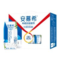 Ambrosial Greek Yogurt (12 bottles) 安慕希酸奶205g 原味/蓝莓/香草 (12瓶)