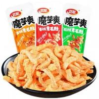 WeiLong Spicy Snack 180g/50g/18g (Bundle) 卫龙魔芋爽香辣味/麻辣味/酸辣味