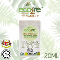 ECO2RE Eco Sanifect Alcohol Free Hand Sanitiser 20ML (White)