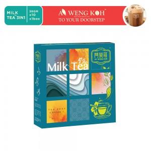 Ah Weng Koh Milk Tea 3 in 1 380g  / Teh Susu 3 in 1 / Boxes