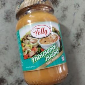 Telly Salad Dressing Thousand Island 230ml (TWINPACK) Mayonnaise / Salad Dressing