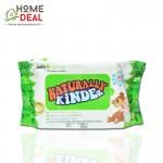 Baby Organix Naturally Kinder Wet Tissue (30sheets) (Baby Organix自然湿纸巾)