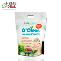 Baby Organix O'Clean Laundry Powder 1KG (Baby Organix O'Clean洗衣粉)