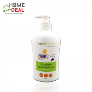 Baby Organix Extra Gentle Top to Toe Cleanser 400 ml (Grape) (Baby Organix葡萄肥皂)
