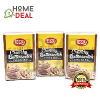EQA's CRUNCHY BUTTERSCOTCH COOKIES 100g (3PACKS) (EQA's黄油曲奇饼干)