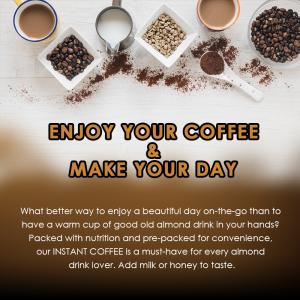 BKC Almond Coffee  / Drink / Beverage / Coffee 25g x 10's (马廣济杏仁咖啡)