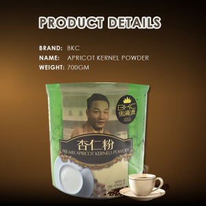 BKC Pre-mix Apricot Kernels Powder (Almond Powder) 700gm (马廣济杏仁粉)
