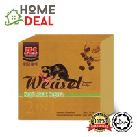 A1 WEASEL COFFEE (2 IN 1) 18g x 10's (A1黄鼠狼咖啡-2合1)