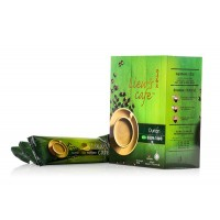 Liew's Cafe 4 in 1 Durian White Coffee / Halal Products 40g x 10's (刘老4合1榴莲白咖啡/清真产品)