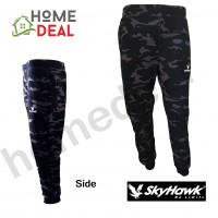 SKYHAWK Long Pants SHT133 (Black) (SKYHAWK黑色长裤)