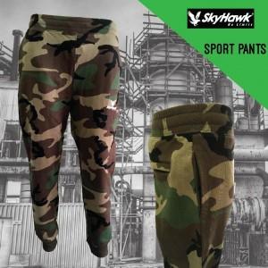 SKYHAWK Long Pants SHT133 (Army) (SKYHAWK军队长裤)