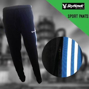 SKYHAWK Long Pants SHT130 (Blue) (SKYHAWK蓝色长裤)