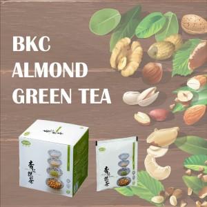 BKC Almond Coffee 10's + BKC Almond Green Tea 10's (马廣济杏仁咖啡 + 马廣济杏仁绿茶)