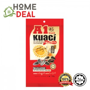 A1 KUACI 100gm x 10PACKS (A1葵花籽)