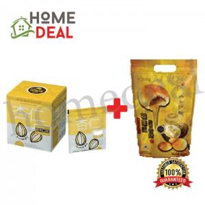 BKC Almond Beverage (25g x 10) + Durian Heong Peah (7pcs) (马廣济杏仁饮料(25g x 10) + 榴莲香饼 7块)