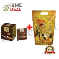 BKC Nan Yang White Coffee (25g x 10) + Durian Heong Peah (7pcs) (马廣济南洋白咖啡(25g x 10) + 榴莲香饼 7块)