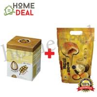 BKC Almond Oatmeal (38g x 10) + Durian Heong Peah (7pcs)  (马廣济杏仁麦片( 38g x 10) + 榴莲香饼 7块)