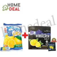 Cocon Lemon And Salt Candy + Himalaya Salt Candy (12pkts) (可康海盐柠檬糖 + Himalaya海盐糖 12包)