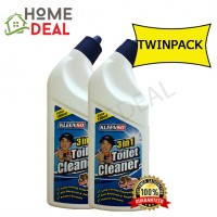 KLEENSO 3 IN 1 TOILET CLEANER-SARSI 600ML (TWIN PACK) (Kleenso 3合1 清洗厕所液体600ml)