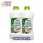 KLEENSO SERAI WANGI LIQUID WAX FLOOR CLEANER 1L (TWIN PACK)  (Kleenso香茅液体蜡地板清洁剂 1L 双套)