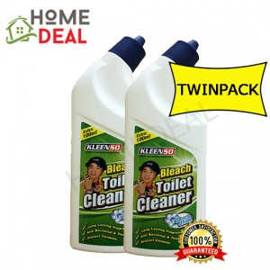 KLEENSO BLEACH TOILET CLEANER-BLEACH 600ML TWIN PACK  (Kleenso清洗厕所漂白剂600ml双套)