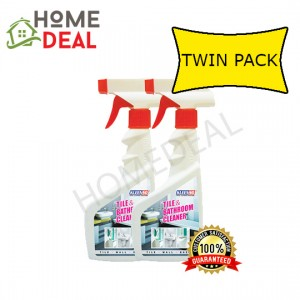 KLEENSO TILE & BATHROOM SPRAY CLEANER 500ML TWIN PACK (Kleenso瓷砖和浴室喷雾清洁剂500ml双套)