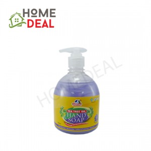 Kleenso Tea Tree Oil Moisturising Hand Soap-Lavender 500ml  (Kleenso茶树油润滑洗手液-熏衣草)