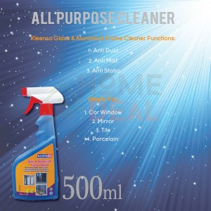 Kleenso Anti-Dust Glass Cleaner 500ml (Kleenso防尘玻璃清洁剂)