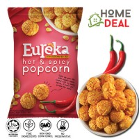 Eureka Popcorn Aluminium Pack - Hot & Spicy (友礼佳爆米花辣椒口味)