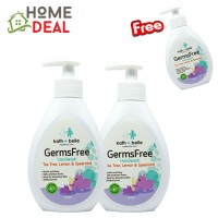 (BUY 2 FREE 1 )KATH + BELLE GERMSFREE HAND WASH ( TEA TREE, LEMON & SPEARMINT) 250ML (KATH + BELLE防菌洗手肥皂(茶树,柠檬,薄荷) 买2送1)