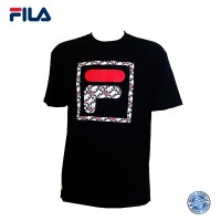 FILA 0302 Basic T Shirt ( Black) (斐乐0302黑色T恤)