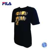 FILA 0303 Basic T Shirt ( Black) (斐乐0303黑色T恤)