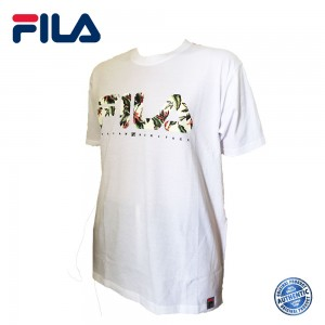 FILA 0307 Basic T Shirt ( White ) (斐乐0307白色T恤)