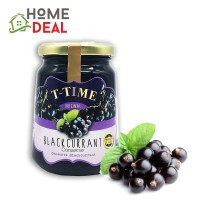 T-Time Blackcurrant Conserve Jam 450g (T-Time黑醋栗果酱)