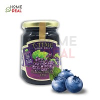 T-Time Blackcurrant More Fruit Less Sugar (MFLS) 450g (T-Time黑醋栗少糖果酱)