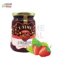 T-Time Strawberry Conserve Jam 450g (T-Time草莓果酱)